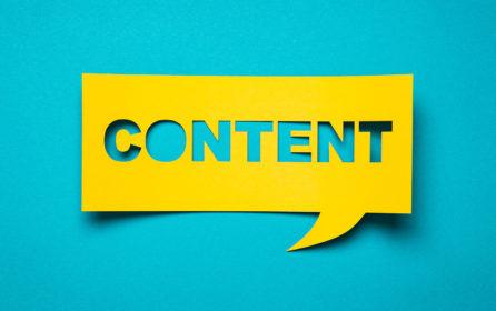 La stratégie de contenu de l'entreprise